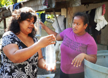 New solar disinfection method addresses water security in Kiribati